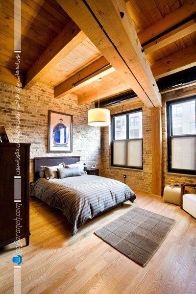 دیوارپوش اتاق خواب / عکس