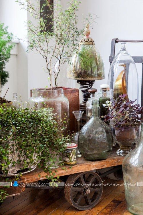 ساخت گلخانه در کنار طراحی دکوراسیون کلاسیک