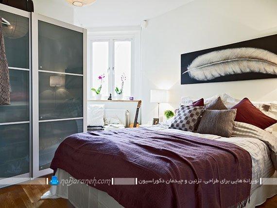 دیزاین ساده و ارزان اتاق خواب زوجین