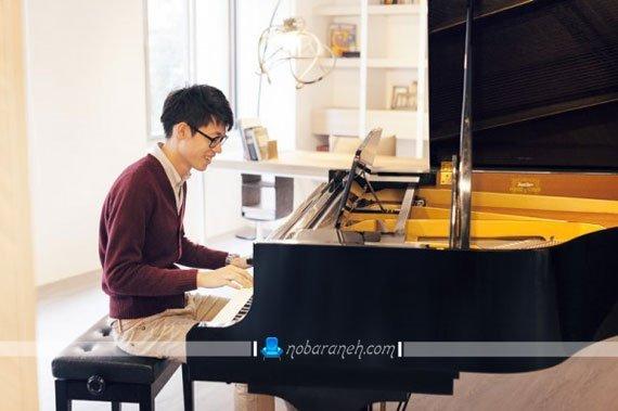 چیدمان پیانو در فضای کوچک و کم / عکس