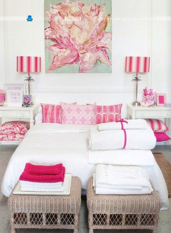 استفاده مفید از فضای اطراف تخت خواب