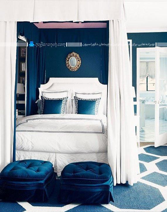 چیدمان مبل در اتاق خواب و کنار سرویس خواب