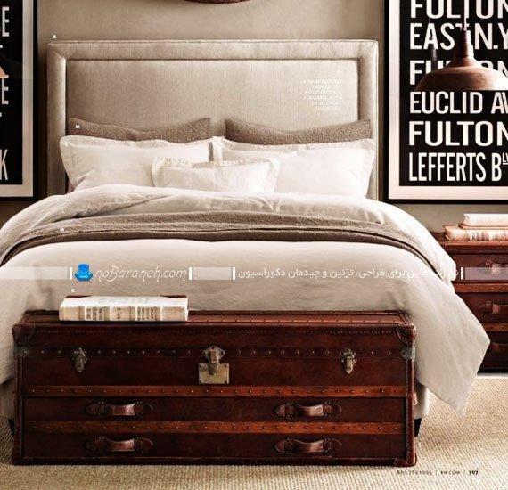 چیدمان مبلمان در اطراف تخت خواب