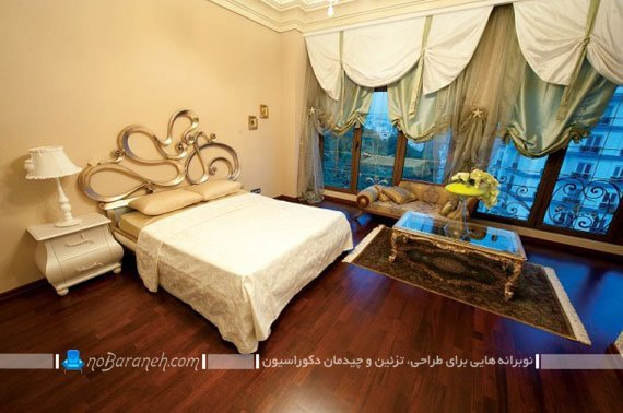 اتاق خواب مستر در واحدهای مسکونی برح رما رزیدنس
