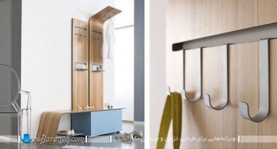 مدل جالباسی و جاکفشی با طراحی جدید و ظریف / عکس