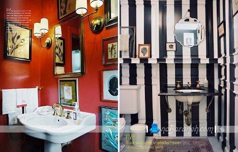 رنگ آمیزی و دکوراسیون حمام و توالت