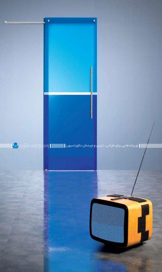 مدل های جدید درب شیشه ای دکوراتیو / عکس