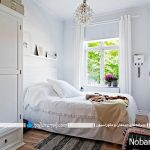 طراحی دکوراسیون و چیدمان اتاق خواب های کوچک و نقلی