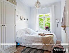 دکوراسیون اتاق خواب کوچک و نقلی