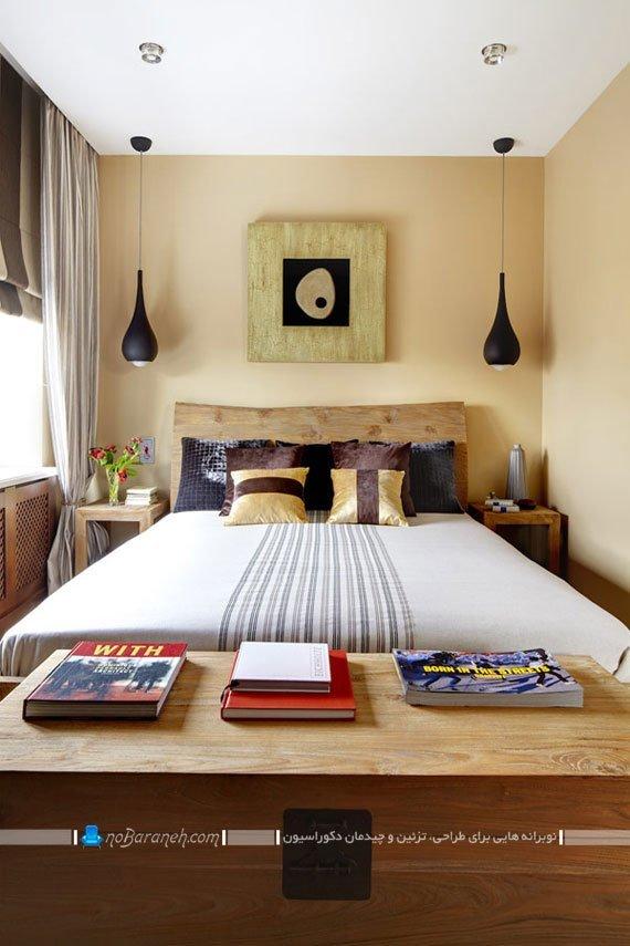 اتاق خواب کوچک و زیبادرن اتاق خواب / عکس