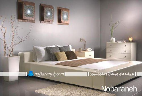 طراحی دکوراسیون اتاق خواب بر پایه آسایش و آرامش