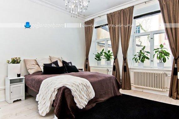 چیدمان اتاق خواب عروس به شکل مدرن