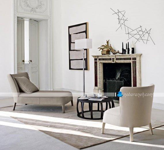 مبلمان راحتی ایتالیایی تک نفره فانتزی شیک مدرن در مدل های جدید و زیبا. مبل راحتی کرم رنگ خارجی با کیفیت و خوش دوخت.