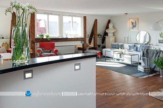 طراحی دکوراسیون خانه 80 متری