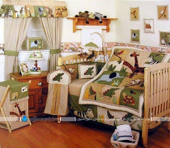 تزیین اتاق بچه با طرح و عکس حیوانات