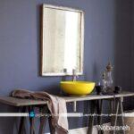 تزیین حمام و سرویس بهداشتی با رنگهای شاد و متنوع