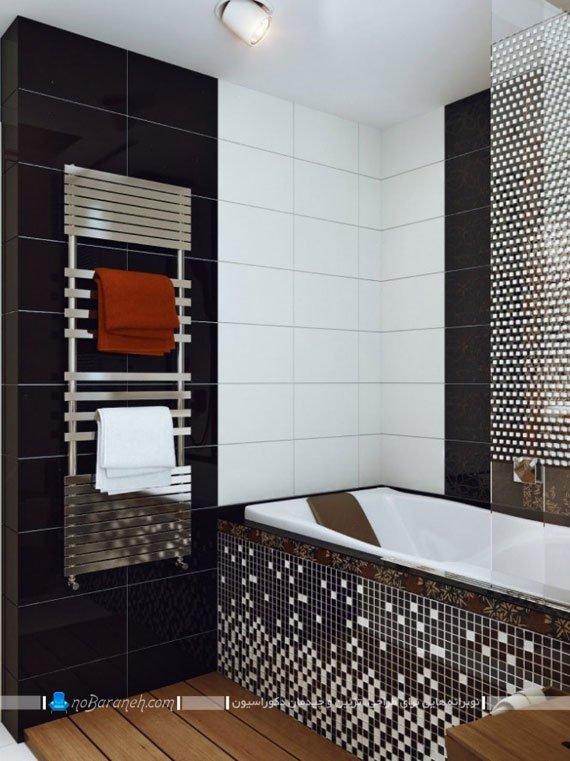 دیزاین شیک حمام و دستشویی