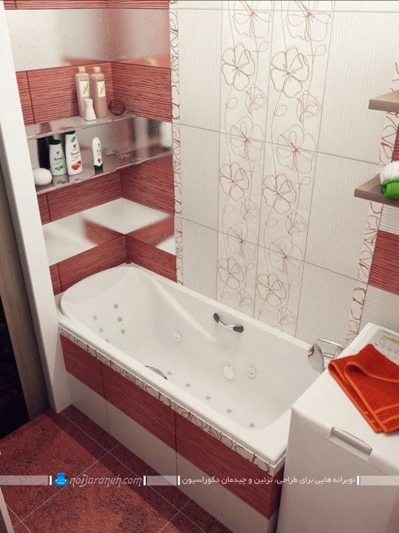 دکوراسیون شیک دستشویی و حمام