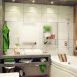طراحی دکوراسیون و دیزاین حمام و دستشویی به شکل مدرن