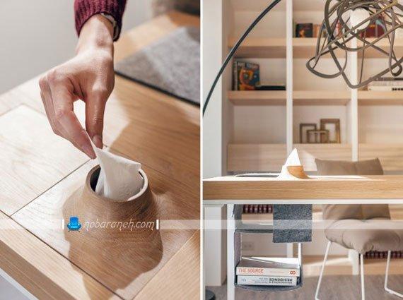 مدل میز تحریر اداری مناسب چیدمان در خانه کوچک