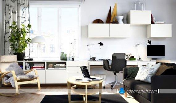 طراحی دکوراسیون مدرن در اتاق خواب کودک و نوجوان با رنگ سیاه و سفید / عکس