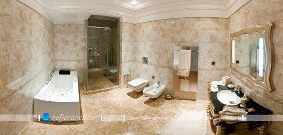 سرویس بهداشتی در واحد مسکونی برج روما رزیدنس