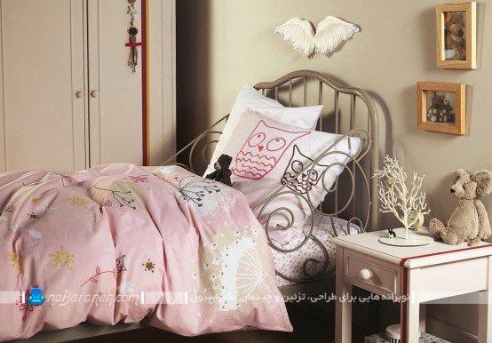 تخت خواب فرفورژه اتاق کودک / عکس