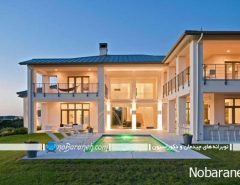 طراحی دکوراسیون خارجی خانه ویلایی مدرن