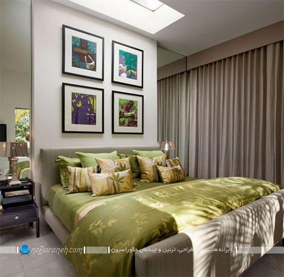 تزیینات رنگی و شاد برای اتاق خواب / عکس