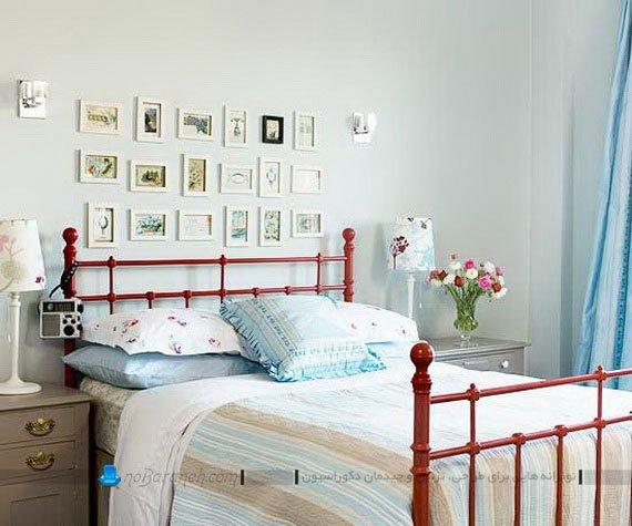 تزیین و دکوراسیون اتاق خواب با رنگ آبی روشن
