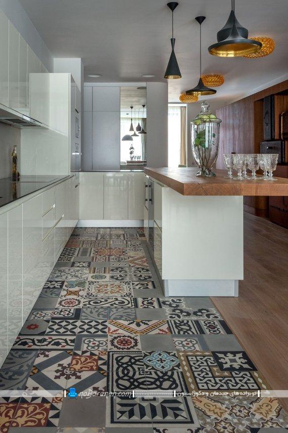 سرامیک کف آشپزخانه جدید سرامیک کف چه رنگی خوبه
