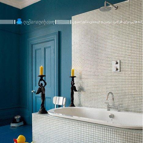 دکوراسیون و تزیین دیوارهای حمام و دستشویی