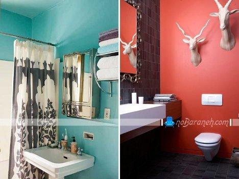 طراحی دکوراسیون حمام و روشویی