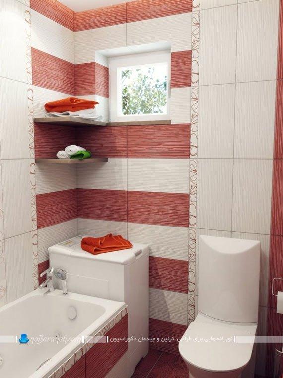 مدل کاشی دیواری دستشویی و حمام