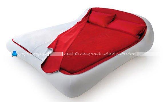 طرح و مدل جدید تخت خواب دو نفره / عکس