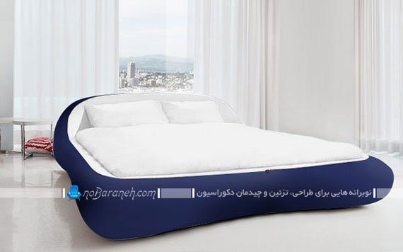 تخت خواب عروس با روتختی زیپی / عکس