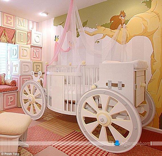 مدل سرویس خواب و تخت خواب نوزاد با مدل