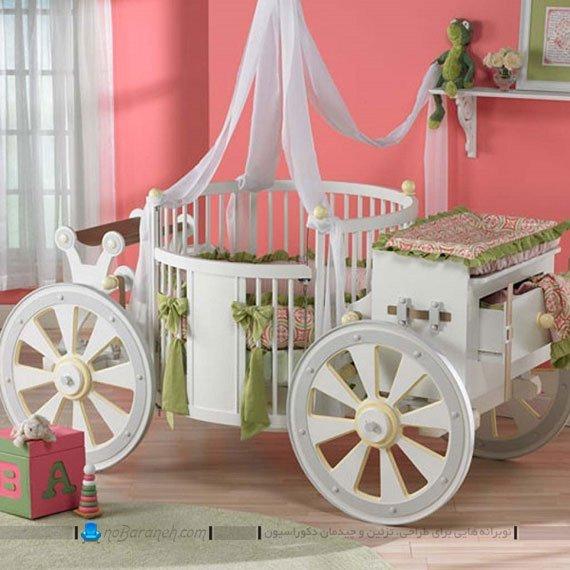 مدل تخت خواب نوزاد طرح کالکسه