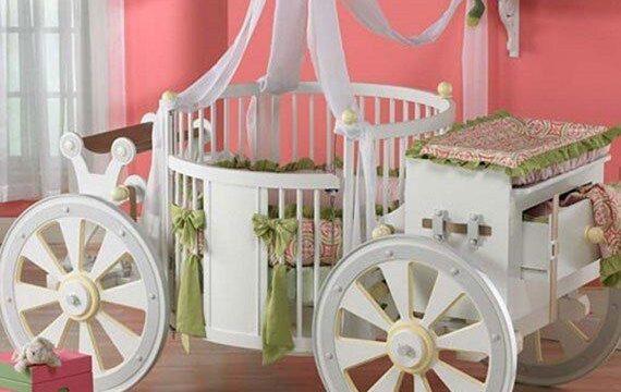 مدل تخت خواب نوزاد با طرح و مدل فانتزی