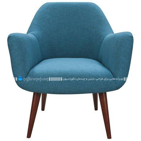 صندلی راحتی تک نفره و دسته دار