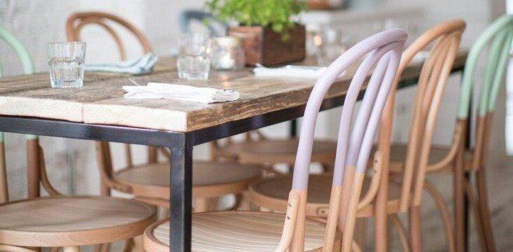 صندلی تونت با رنگ بندی متنوع