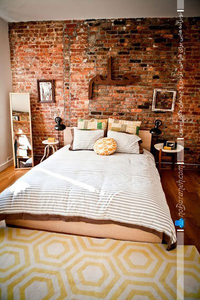 تزیین سنتی اتاق خواب با کامپوزیت آحری