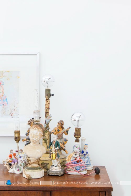 تزیینات کلاسیک رومیزی برای دکوراسیون منزل