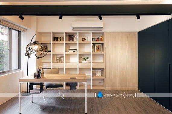 عکس و مدل دیزاین چوبی و زیبا در اتاق خواب / عکس