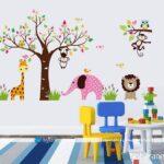 استیکر اتاق کودک با طرح و مدل زیبای دخترانه و پسرانه