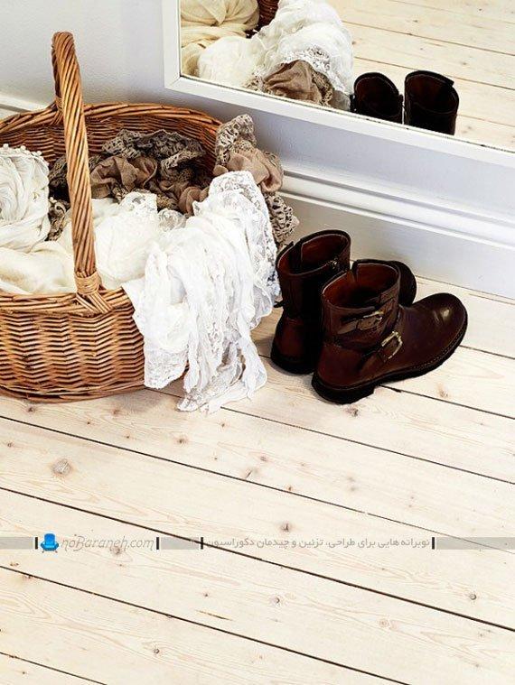 کفپوش چوبی و لمینت در دکوراسیون کلاسیک