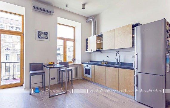 دکوراسیون آشپزخانه کوچک آپارتمانی / عکس