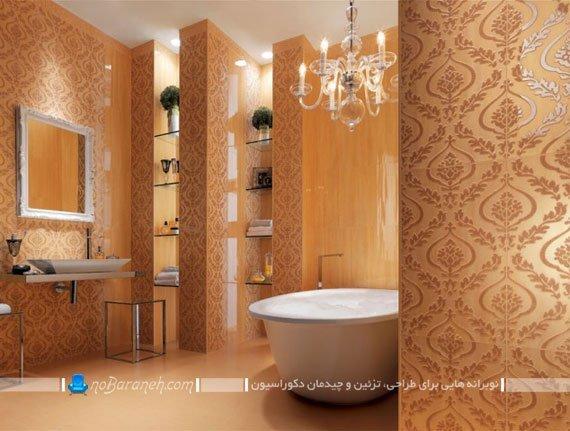 کاشی و سرامیک شیک حمام و دستشویی