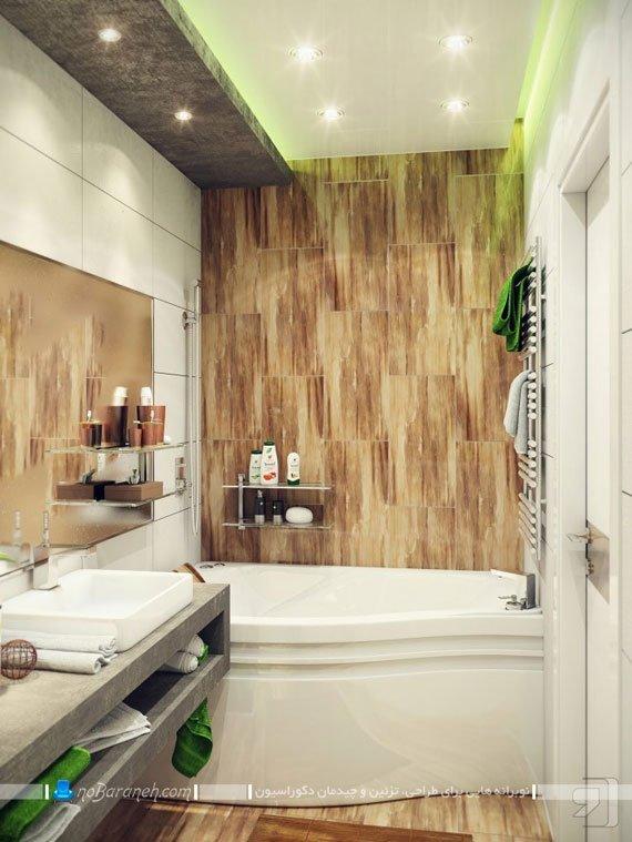 مدل حمام و دستشویی مدرن / عکس