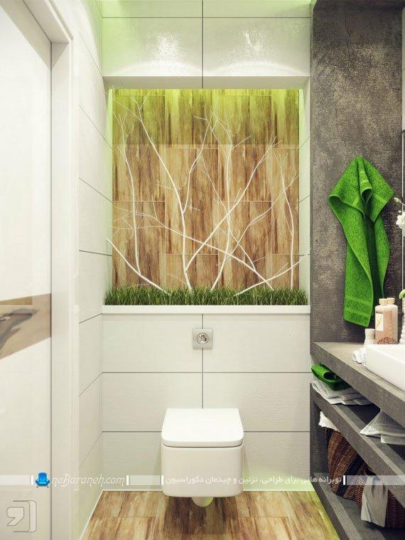 حمام و روشویی مدرن و شیک